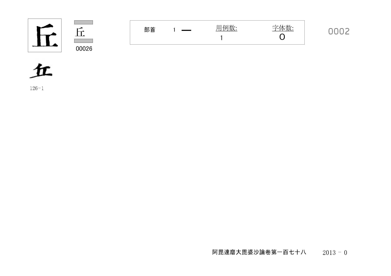 71_阿毘達磨大毘婆沙論卷百七十八(正倉院本)/cards/0002.jpg