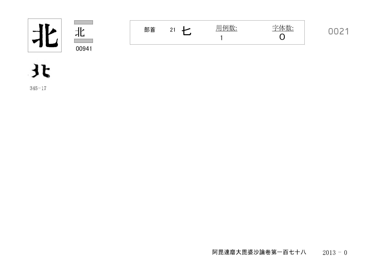 71_阿毘達磨大毘婆沙論卷百七十八(正倉院本)/cards/0021.jpg
