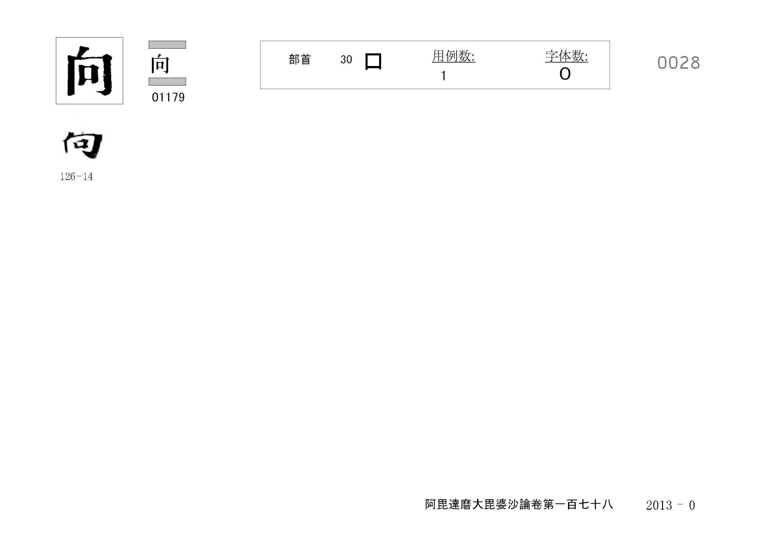 71_阿毘達磨大毘婆沙論卷百七十八(正倉院本)/cards/0028.jpg