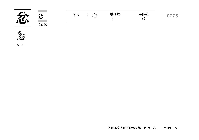 71_阿毘達磨大毘婆沙論卷百七十八(正倉院本)/cards/0073.jpg