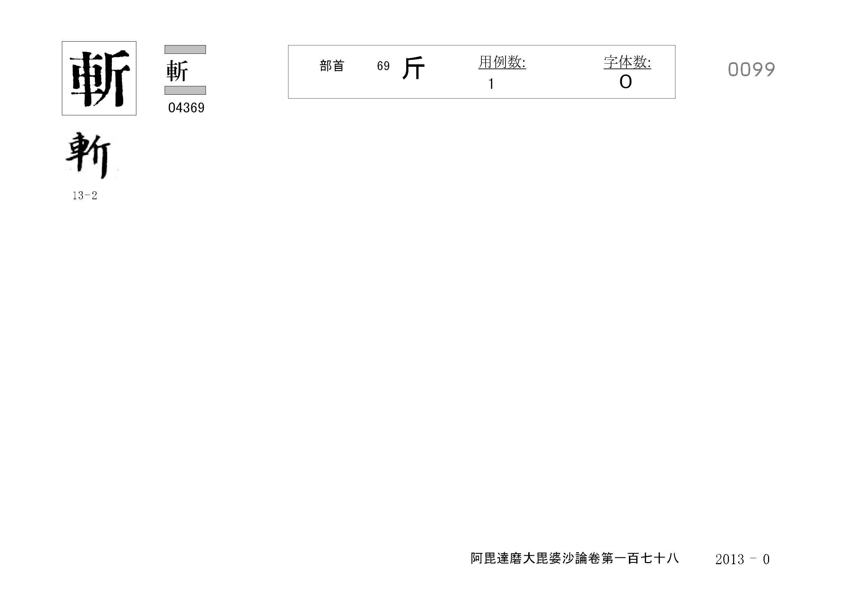 71_阿毘達磨大毘婆沙論卷百七十八(正倉院本)/cards/0099.jpg