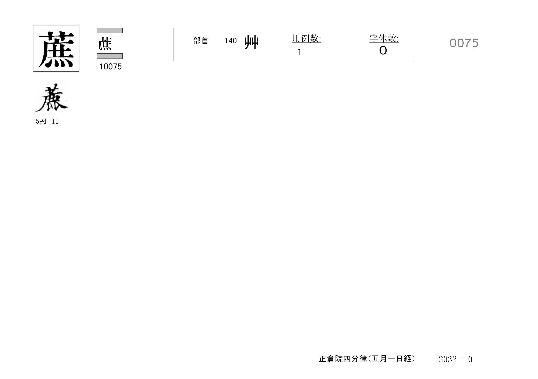 77_四分律卷第十六(正倉院五月一日經)/cards/0075.jpg