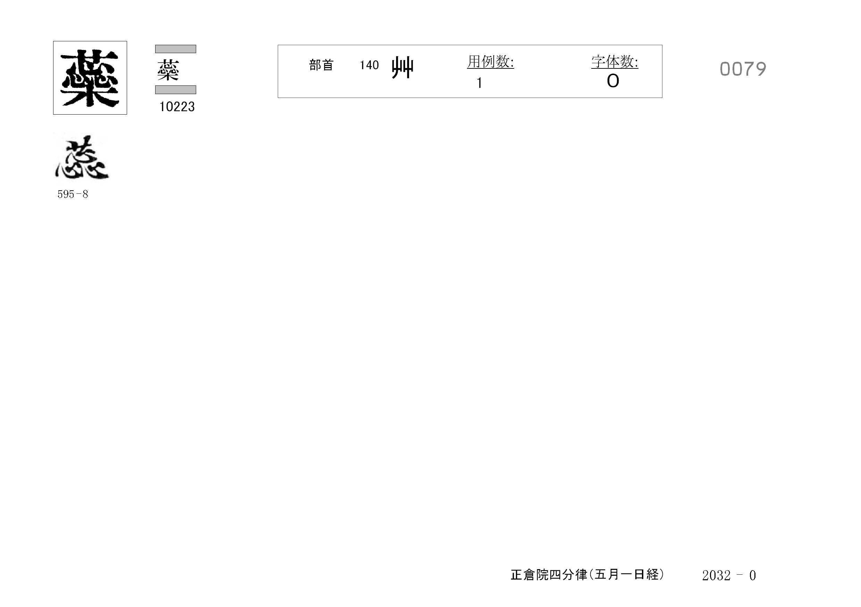77_四分律卷第十六(正倉院五月一日經)/cards/0079.jpg