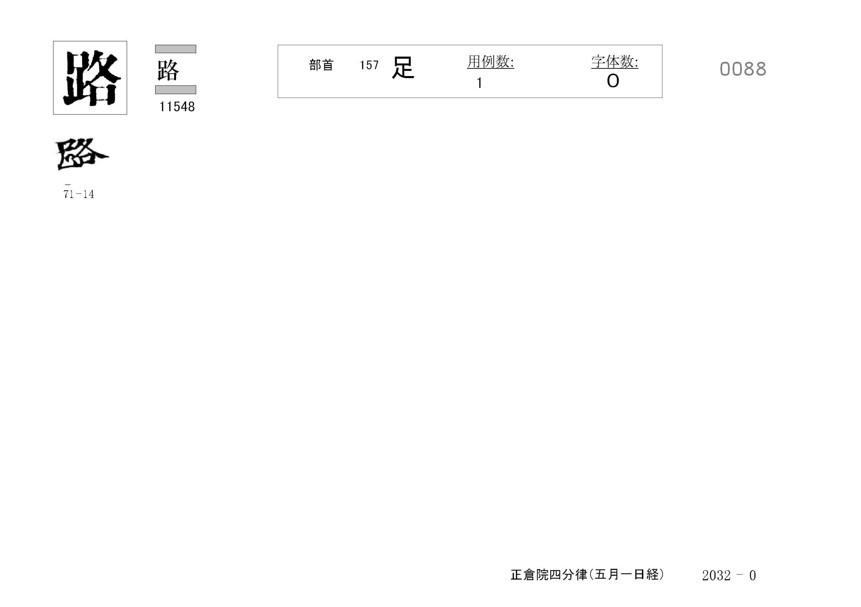 77_四分律卷第十六(正倉院五月一日經)/cards/0088.jpg