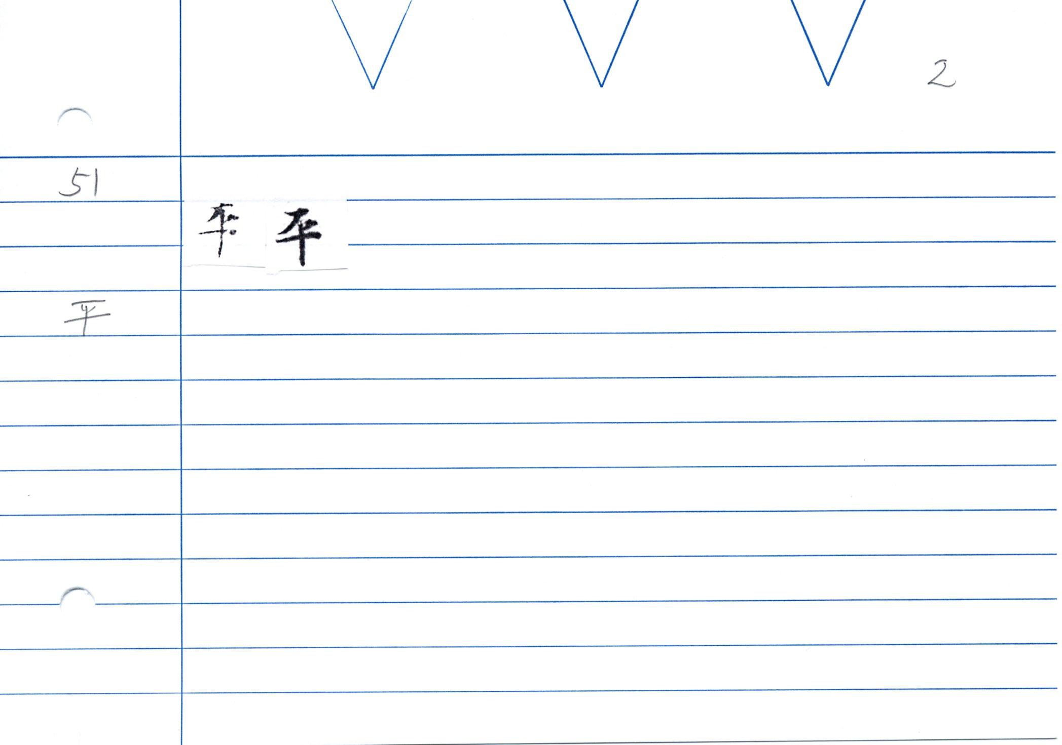 54_大般若經卷二百五十(和銅經)/cards/0074.JPG