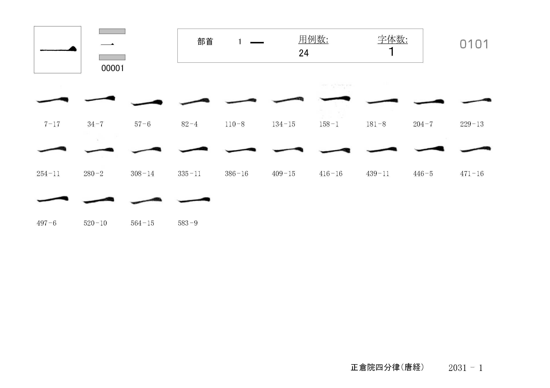 78_四分律卷第二十(正倉院唐經)/cards/0101.jpg