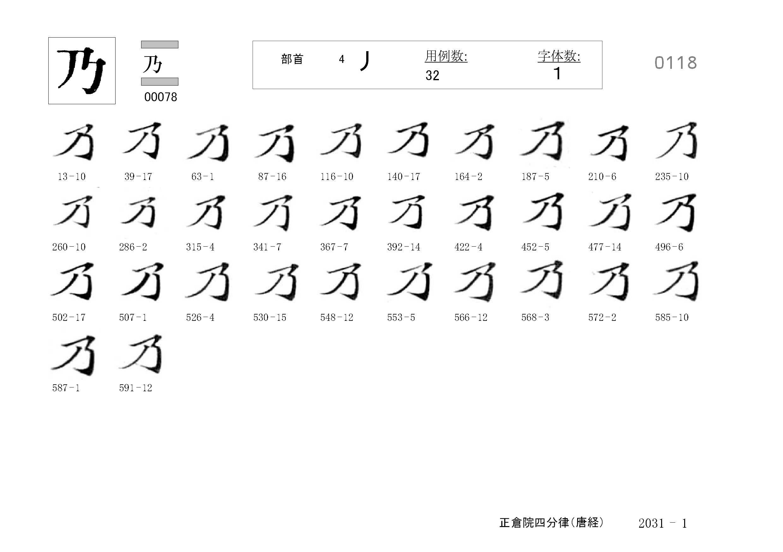 78_四分律卷第二十(正倉院唐經)/cards/0118.jpg