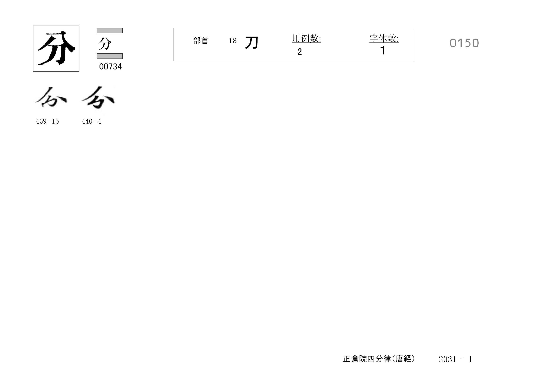 78_四分律卷第二十(正倉院唐經)/cards/0150.jpg