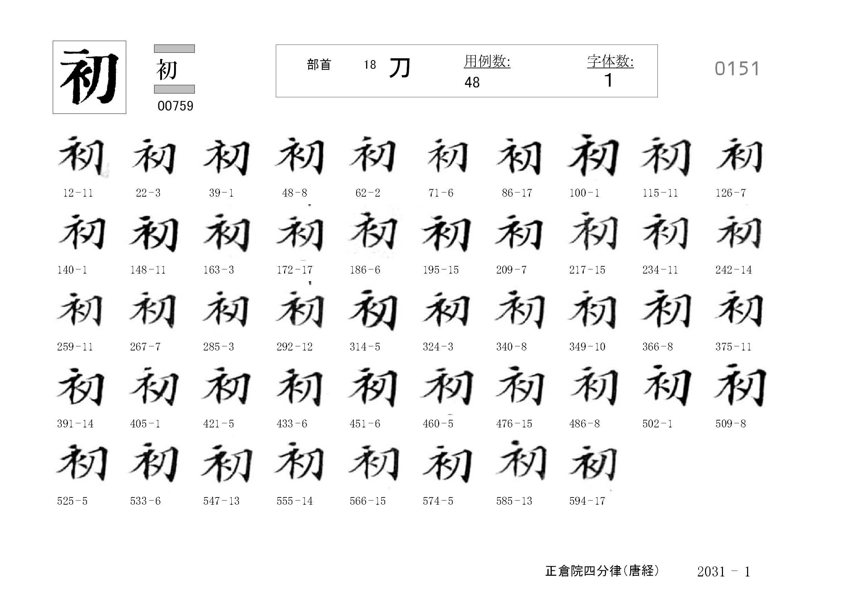 78_四分律卷第二十(正倉院唐經)/cards/0151.jpg