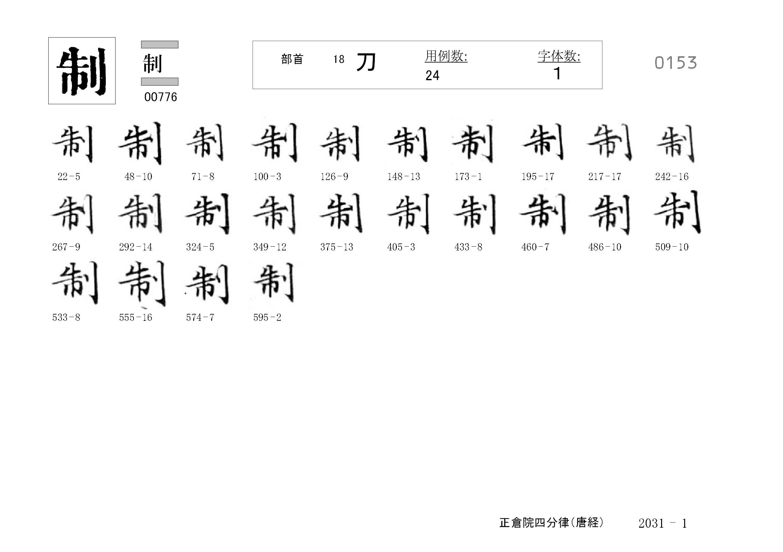 78_四分律卷第二十(正倉院唐經)/cards/0153.jpg