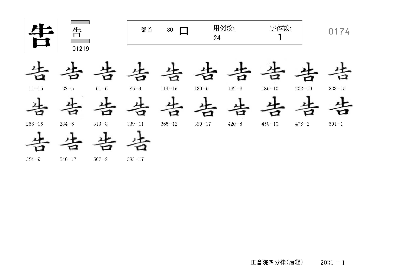78_四分律卷第二十(正倉院唐經)/cards/0174.jpg