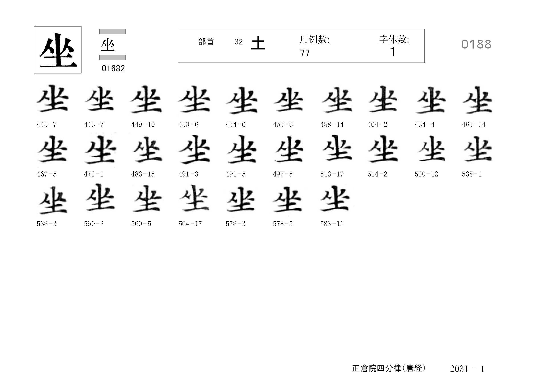 78_四分律卷第二十(正倉院唐經)/cards/0188.jpg