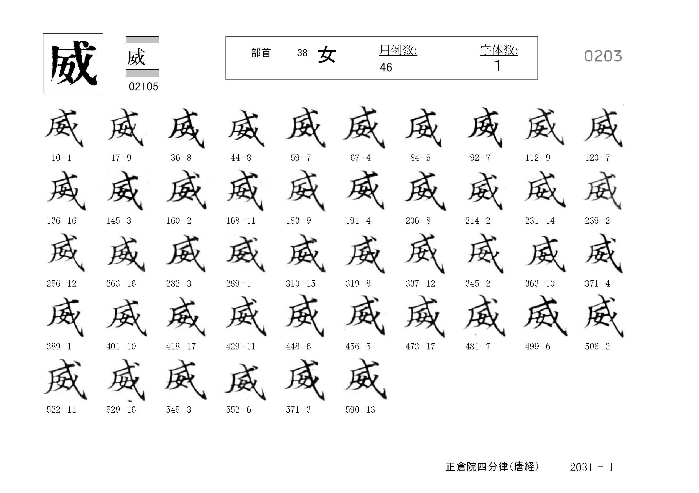 78_四分律卷第二十(正倉院唐經)/cards/0203.jpg