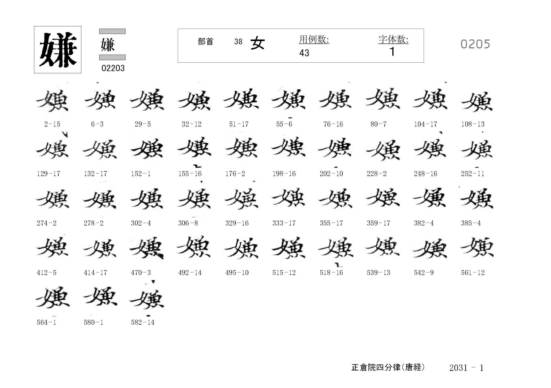 78_四分律卷第二十(正倉院唐經)/cards/0205.jpg